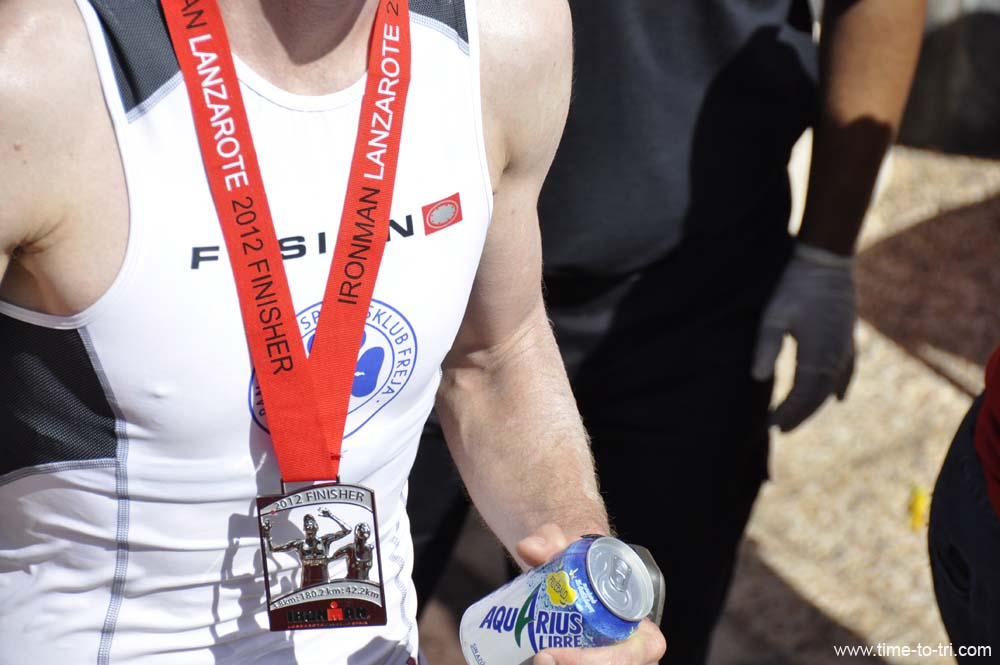 2012 Lanzarote Finisher