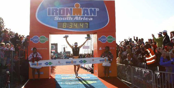 Clemente Alonso-McKernan wins Ironman South Africa