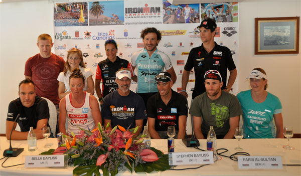 Lanzarote Ironman 2013 Press Conference