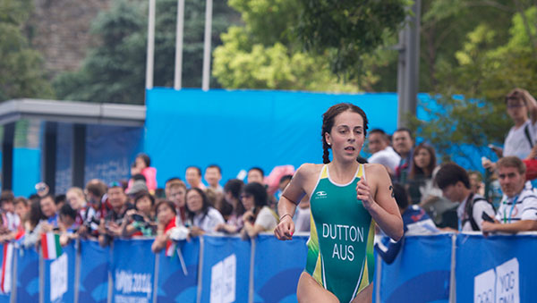 Brittany Dutton - 2014 Youth Olympic Champion