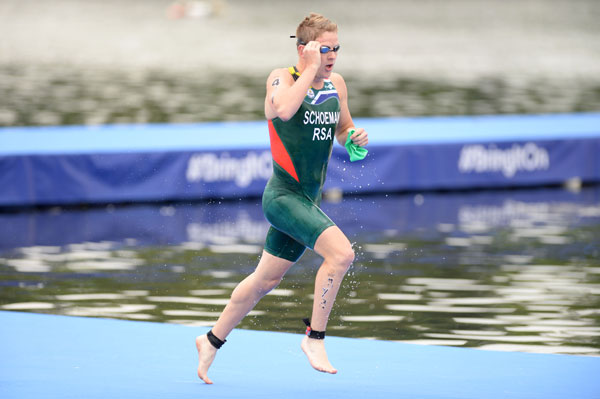 Schoeman wins Tongyeong ITU World Cup