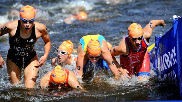 triathlon - swim
