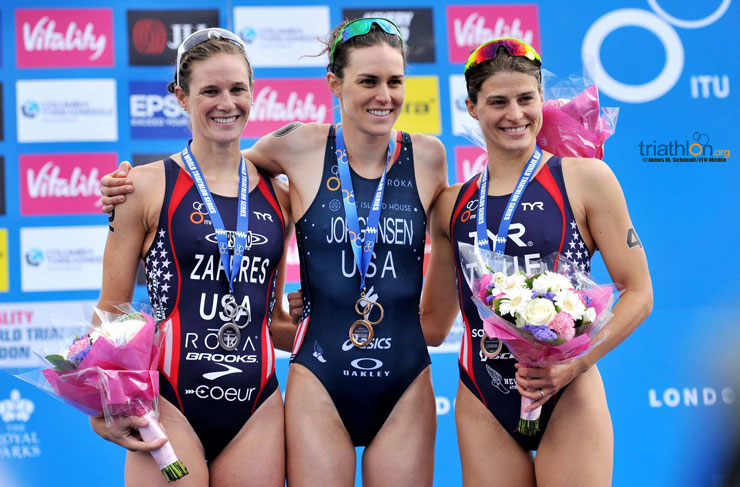 US Women - World Triathlon London
