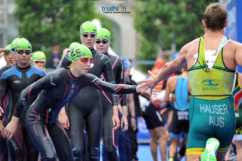 hamburg team - itu mixed relay