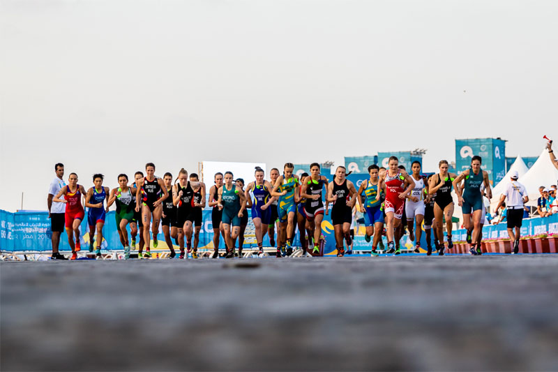 Spain dominant at Doha Aquathlon debut